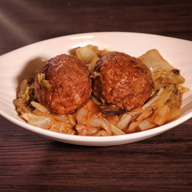 Braised Pork Balls in brown sauce